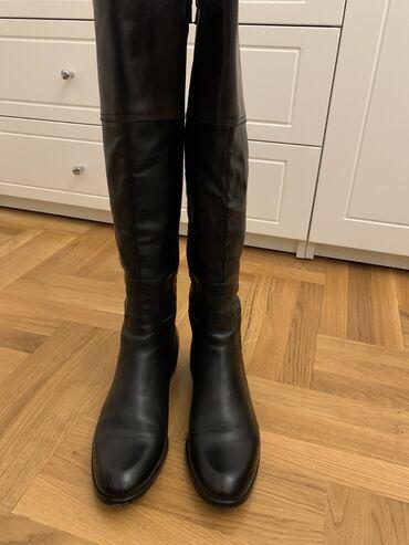 Kožne italijanske čizme, broj 39,gaziste 26cm,NOVO. Kvalitetne čizme