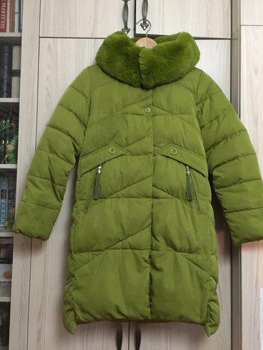 химчистка одежды в Кыргызстан: Куртка зимняя, очень теплая! Воротник - натуральный мех. Размер М