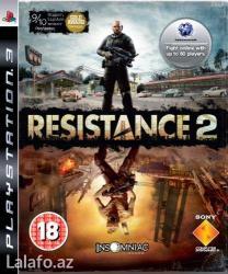 """Bakı şəhərində Playstation 3 ucun oyun """"resistance 2"""""""