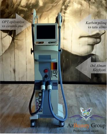 - Azərbaycan: Lazer aparati Duos 3D - FotoEpilyasiya- Cavanlaşma- Tattoo silinməsi-