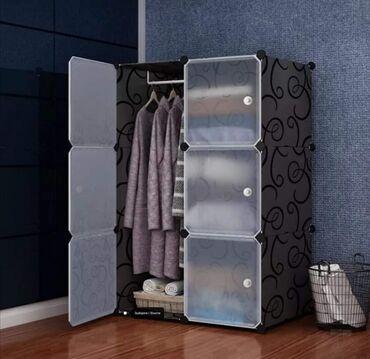(76x37x110cm) - Odličan garderober na rasklapanje koji možete