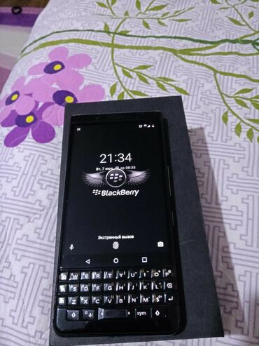 blackberry-8120 в Кыргызстан: Blackberry KeyOne 64гб сенсорный Touch ID, Face ID клавиатура