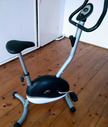 Sobna bicikla - Srbija: Prodajem gotovo nov sobni bicikl, Manuelno podešavanje opterećenja