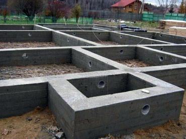 Фундамент кирпич штукатурка крыша с в Бишкек