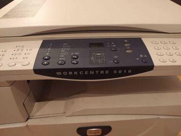 Заправка автокондиционеров - Азербайджан: Xerox Workcentre 5016 Практически новый, состояние идеальное, картридж