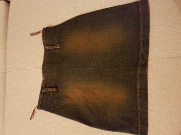 Женская одежда - Мыкан: Модная джинсовая юбочка,размер S.распродаю всё,смотрите профиль