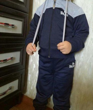 спортивный костюм. полиэстер. новый. 1-5 лет в Бишкек