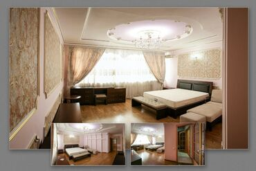 bentley flying spur 4 v8 в Кыргызстан: Сдается квартира: 4 комнаты, 240 кв. м, Байтик