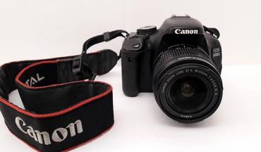 canon 5 d в Азербайджан: Canon 600d heveskar fotoaparat.2 eded batareyka + adapter +