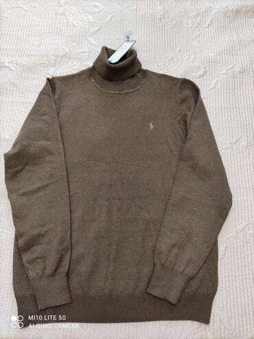 Водолазка мужская, теплая, цвет коричневый, новая с этикеткой, размер