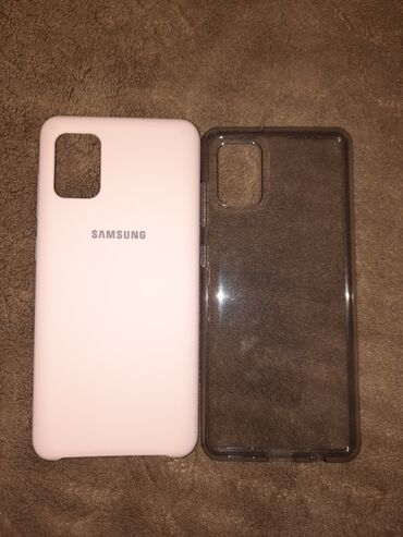 Продам 2 новых силиконовых чехла на Samsung A31. Каждый по