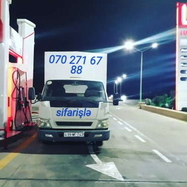 Bakı şəhərində Yük daşıma xidməti