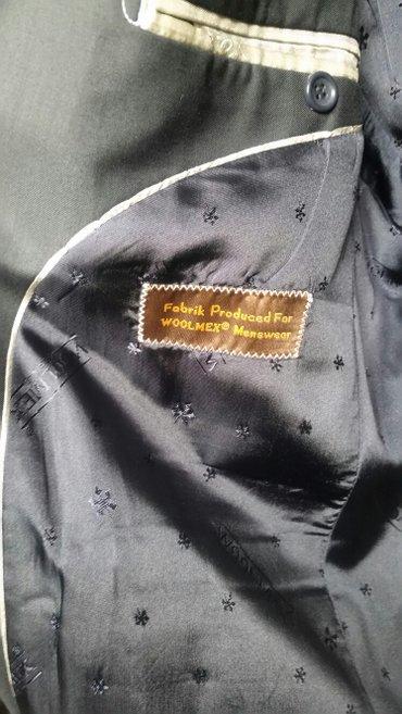 Bakı şəhərində Klassik kişi kostyumu. Türkiyənin woolmex firmasınındı. 1-2 dəfə geyin- şəkil 3