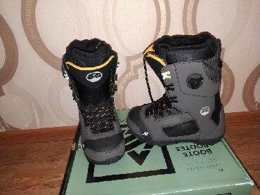 Сноуборды - Кыргызстан: Продаю ботинки для сноуборда K2 Kompass,система шнуровки BOA с пожизн
