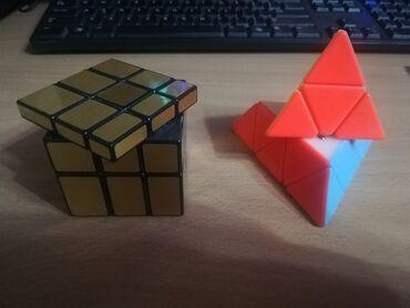 биндеры 600 листов компактные в Кыргызстан: Кубик рубика Пирамида  Зеркальный Обе за 600