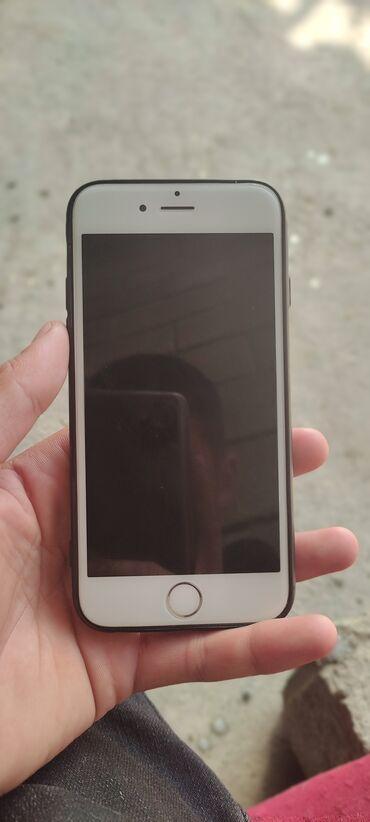Электроника - Баткен: IPhone 6   64 ГБ   Серебристый Б/У   Гарантия