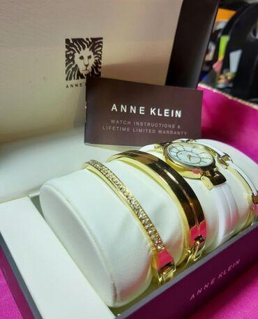 Бюстгальтер со стразами - Кыргызстан: Белые Женские Наручные часы Anne Klein