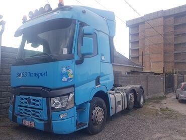 шины для грузовиков в Кыргызстан: Рено т-460 год 2016 шина 100% ленивец каропка автомат атблю есть автон