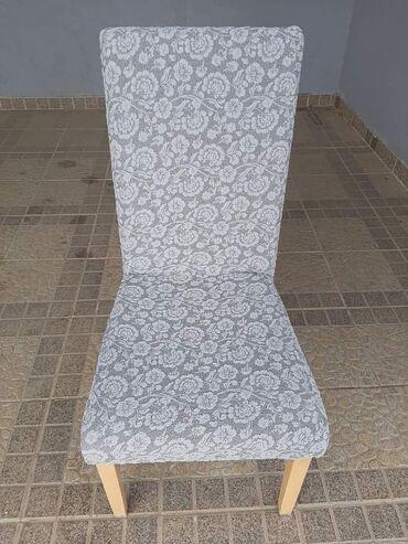 Presvlake za stolice bez karnera 6kom 3000 din Dostupno u pet boja. ss