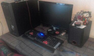 Компьютеры, ноутбуки и планшеты - Беловодское: Е5300 2.6 хард 250 гб озу 4гб gt 730 128 bit видео карта 2гб мон