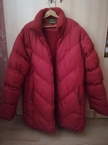 Crvena zenska zimska jakna veoma malo nosena, postavljena, topla - Lajkovac