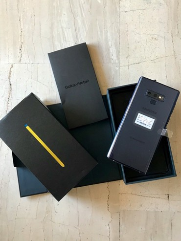 Samsung galaxy note 9 в Ağstafa