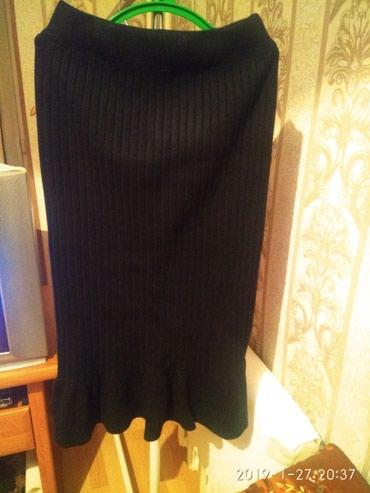 юбки из плотного трикотажа в Кыргызстан: Юбка новая, трикотаж, размер М - Л, 200сом