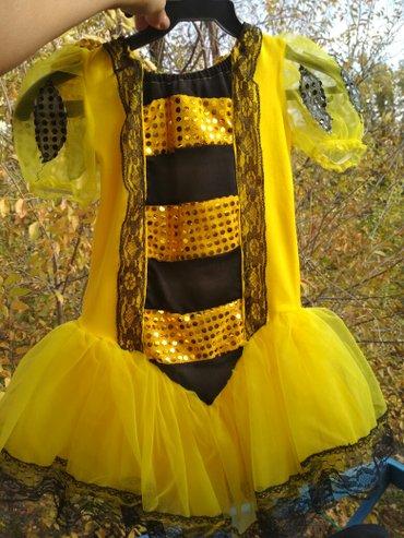 Продаю костюм 🐝,  в отличном состоянии,  размер 5-7 лет, в подарок от в Бишкек