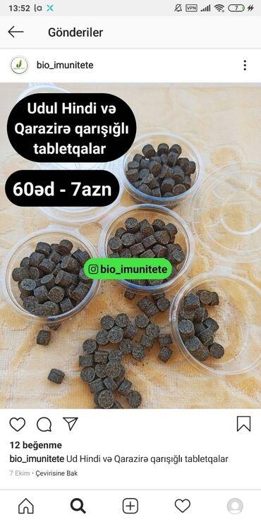 - Azərbaycan: Ud hindi və qarazirə tərkibli tablet 60 ed