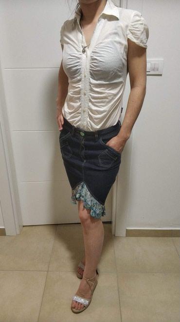 Katrin komplet, suknja 800 i kosulja 500 M velicina - Novi Sad