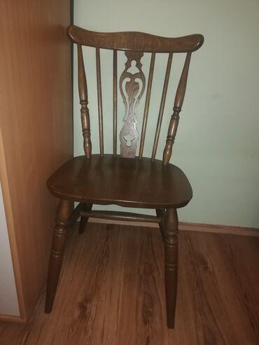 4 drvene stolice. Jako kvalitetne. Nisu ostecene