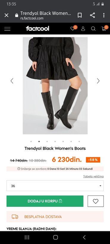 Postavljen duks tanja jakna broj a - Srbija: Trendyol cizme. Kao nove, 2 puta obuvene. Broj 38, duzina spoljasnjeg