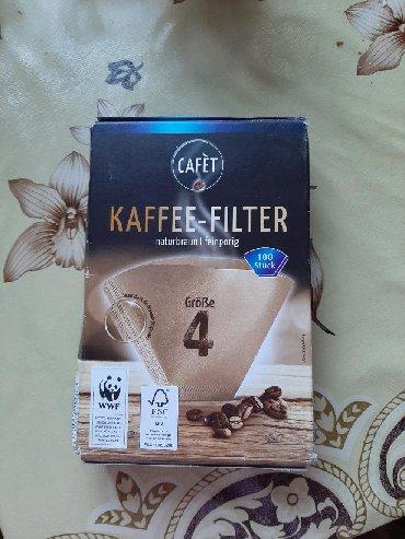 фильтры для очистки воды аквафор в Кыргызстан: Фильтр-пакеты для молотого кофе. 100 шт. 150 сом
