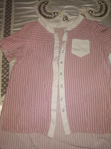 Блузка новая. Размер 48/50. Материал мягкий, дышащий. Х.б
