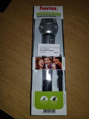 Mikrofoni   Srbija: Mikrofon Hama DM-40! NOV! Kupljen 01.06.2020, ne korišćen