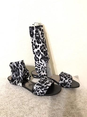 сандали 38 размер в Кыргызстан: «64»Сандали стретч леопардовый по желанию становятся полусапожками