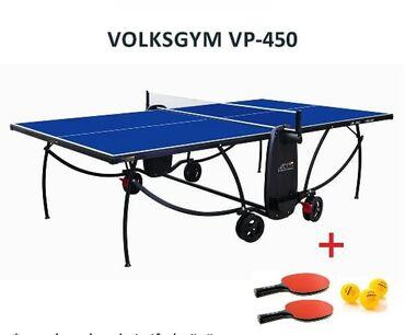 стол деревянный кухонный в Азербайджан: Теннисные Столы в наличии!Теннисный стол Volksgym VP-300Производитель