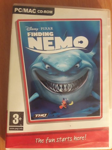 Pc game Finding Nemo - Sabac