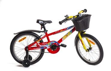Детский велосипед ZEVS AYAN Стальная рама, колеса 18 в Бишкек