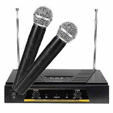Bakı şəhərində Yamaha Karaoke ucun 2 eded bluetooth mikafon ve aparati