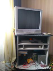 ТВ и видео - Балыкчы: Телевизор в хорошем состоянии Самсунг санарип и двд вместе