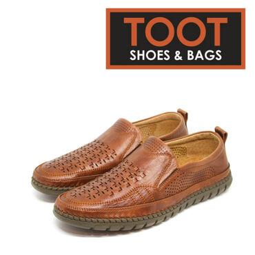 коричневые мужские мокасины в Кыргызстан: Мокасины мужские Toot shoes&bags Артикул: S2-8780 (1) Детали Разме