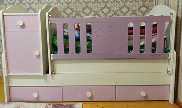 снять времянку в Азербайджан: СРОЧНО Продам детскую кровать в хорошем состонии, с матрасом месте На