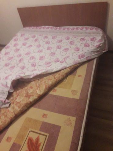 """Кровать 155 на 200 с матрасом """"лина """"за5000 в Бишкек"""