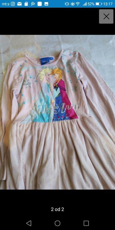 Haljina st - Srbija: Frozen haljina vel 116 sa dugim rukavima odličnom stanju