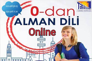 Online alman dili kursuSiz də ALMAN DİLİNİ mükəmməl səviyyədə bilmək