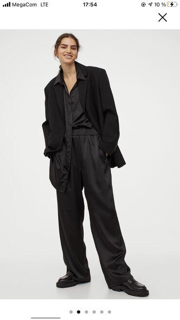 Новый шелковый костюм Н&Мрубашка и штанишки новые с этикеткой