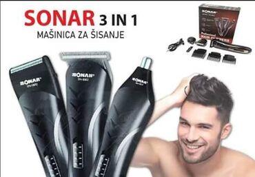 Aparati za brijanje - Srbija: SONAR 3u1 set ⚀ Trimovanje ⚁ Brijanje ⚂ Šišanje  AKCIJSKA cena 2500