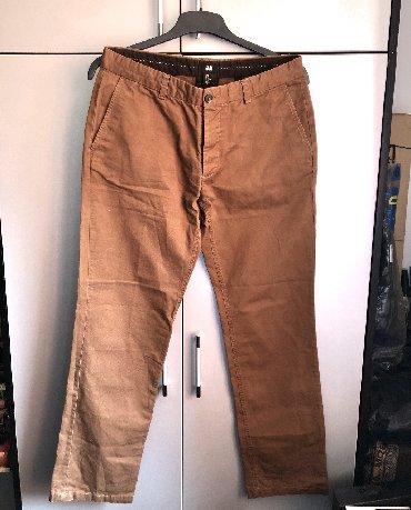 Pantalone-velicina-m - Srbija: H&M muške pantalone  Pantalone bez oštećenja, slabo nošene još uve