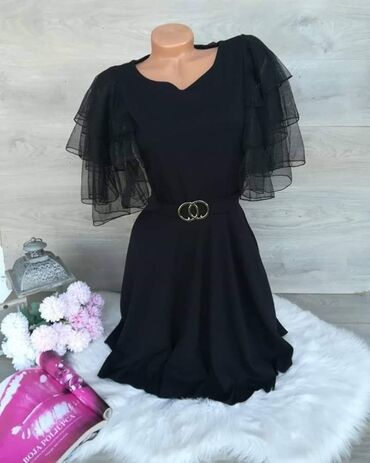 Ženska odeća | Rumenka: Haljina za sve prilikeDostupna u vise bojaVelicina uni (s, m, l)Cena